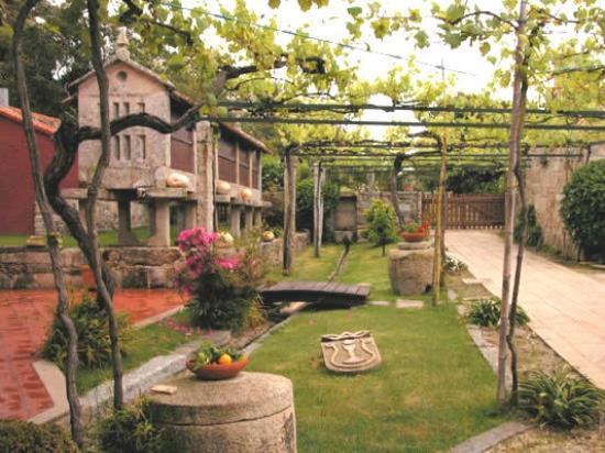 Pazo a Capitana : foto del patio