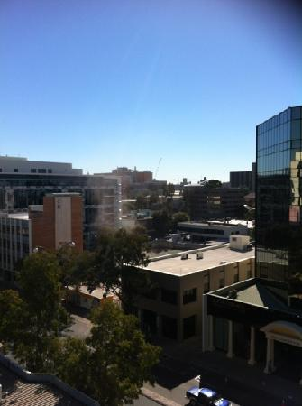 Comfort Inn & Suites Goodearth Perth : the city view