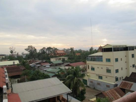 Rithy Rine Angkor Hotel: view from balcony