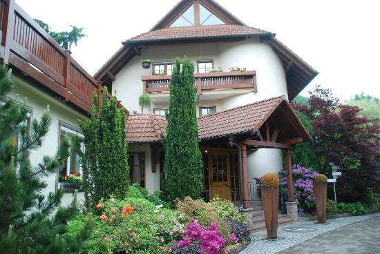 Landidyll Hotel Hirschen: hoofdingang van het hotel
