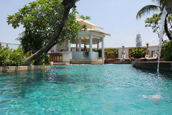 Der Pool Im Ic Picture Of Intercontinental Bangkok Bangkok Tripadvisor