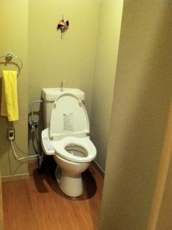 Kinoe: toilet in a closet