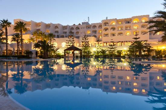 Sentido aziza beach golf spa hammamet tunisia hotel for Salon 5 etoiles tunisie