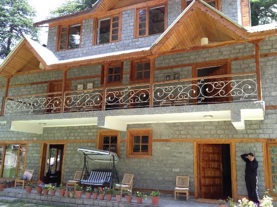 Casa Bella Vista Cottages & Cafe: Casa Bella Vista- front view