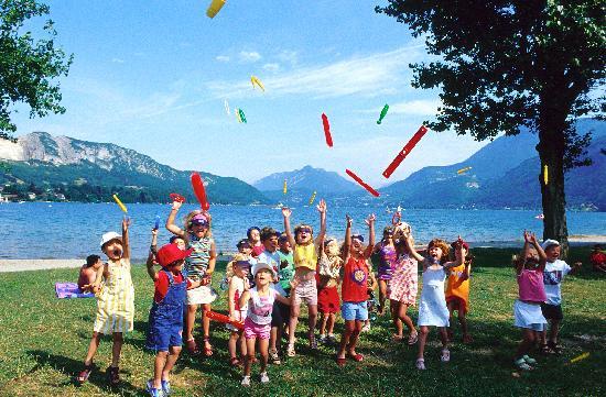 Campeole La Nubliere: activités