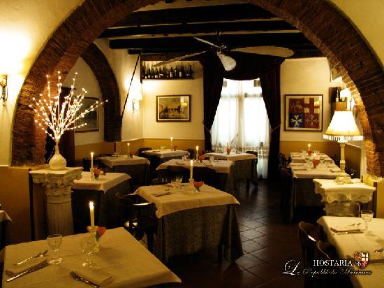 Hostaria Le Repubbliche Marinare: L'interno del ristorante