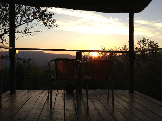 Leopard Mountain Safari Lodge: room with a view