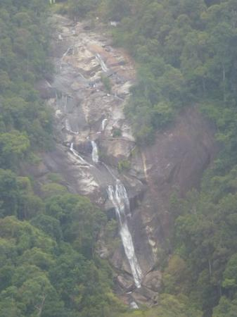 Gunung Mat Cincang: View of the 7 Wells Waterfalls