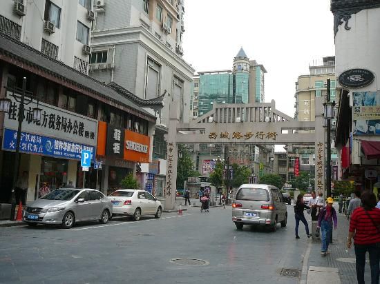 Sapphire Hotel: The walking street near hotel, just few steps away
