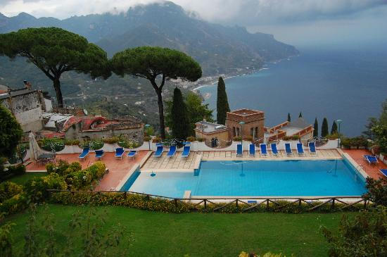 Villa Casale: View from terrace of Casale