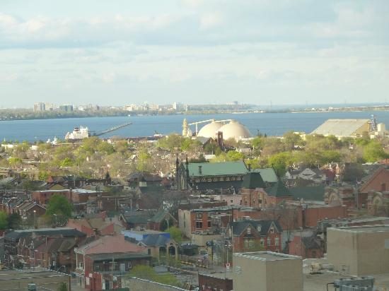 Sheraton Hamilton Hotel: View from hotel room