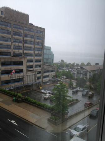 Four Points by Sheraton Halifax: Side facing (salter street) view from room