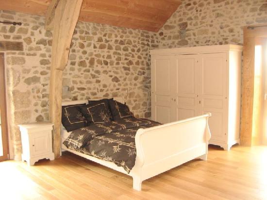 Chambres d'Hôtes L'Elémentaire : la chambre Le Bois, chambre familiale