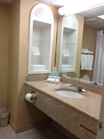 Holiday Inn Express Hotel & Suites Raleigh North - Wake Forest: large, clean bath