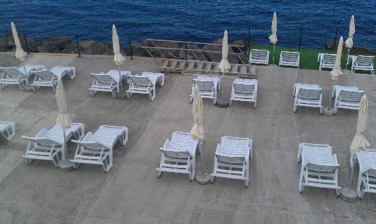 Hotel Santa Tecla Palace: la zona mare