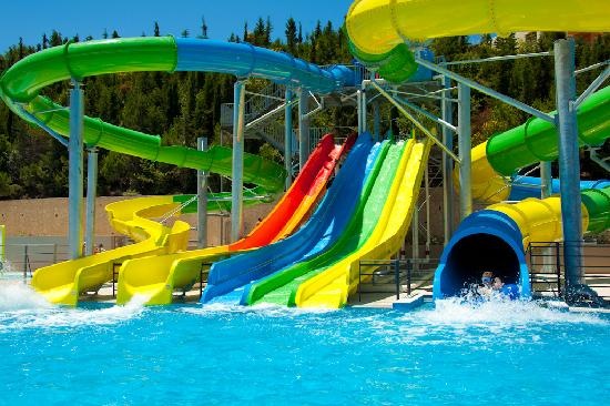 Psalidi, Greece: Waterslides