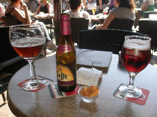 Hotel Groeninghe: pas de belgique sans bière