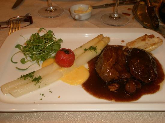 Hotel Groeninghe: les asperges sont une spécialité belge