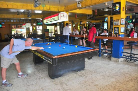 Pool Tables Inside Picture Of Margarita Station Angeles City - Inside a pool table
