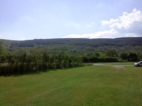 Bryn Gloch Caravan & Campsite: views