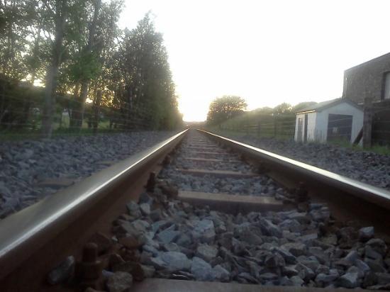 Bryn Gloch Caravan & Campsite: track