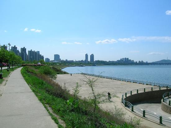 Le parc de Hangang : Han River park