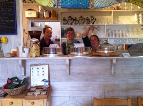 Heron Gallery Cafe : the amazing staff!!!