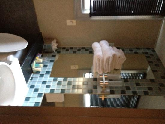 Charlesmark Hotel: bathroom