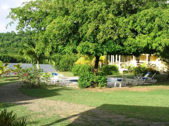 Five Islands Village, Antigua: View from one of the studio cottages.