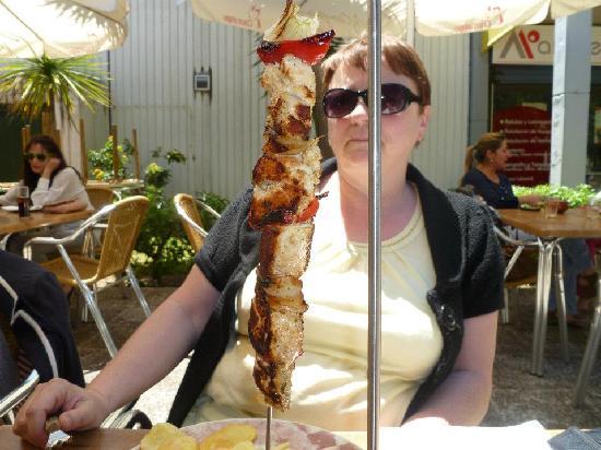 Meson del Asador: Brocheta de solomillo de Cerdo