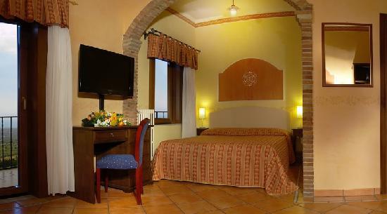 Airone Wellness Hotel: Stanza Panoramica