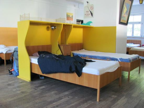 The Black Forest Hostel: Habitación