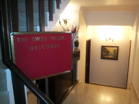 The Swiss Palms: entry