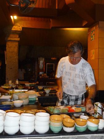 Bumbu Bali: The chef at work