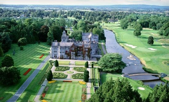 Adare Manor from above