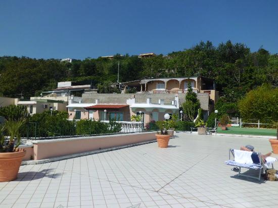 Hotel Bellevue Benessere e Relax: La terrazza