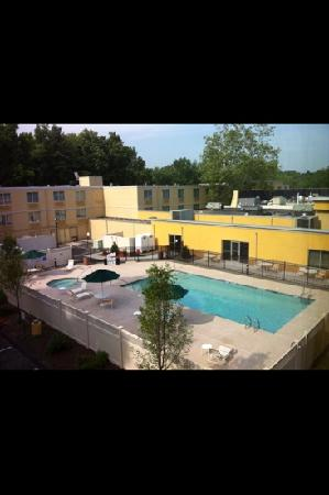 La Quinta Inn & Suites Danbury: Pool View from Room
