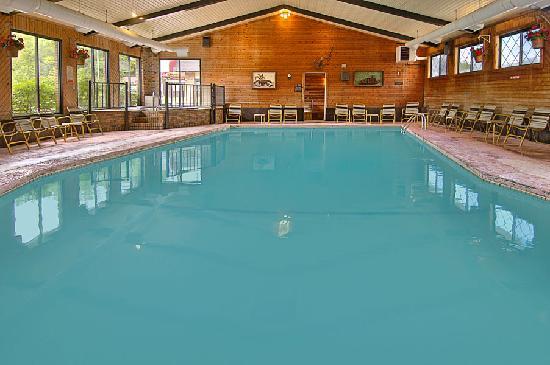 Bavarian Haus Lakefront Inn: Indoor Pool
