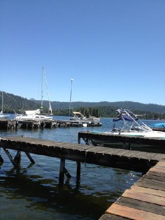 Huntington Lake, CA: marina 2012
