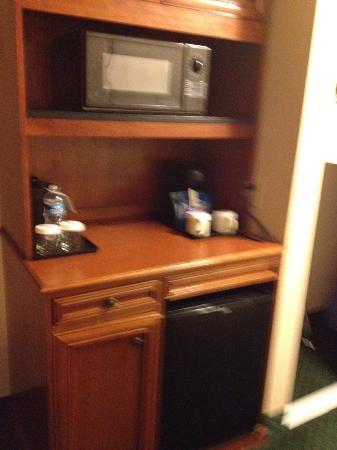 Hilton Garden Inn Charleston Airport: Microwave and refrigerator