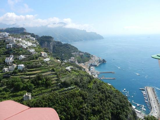 Excelsior Grand Hotel: View of Amalfi