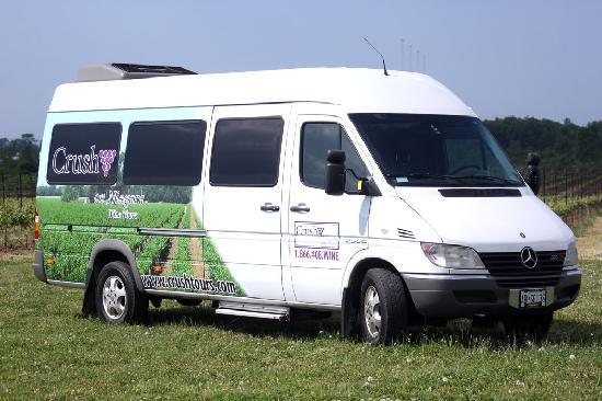Crush On Niagara Wine Tours: Large Passenger Mercedes Sprinter