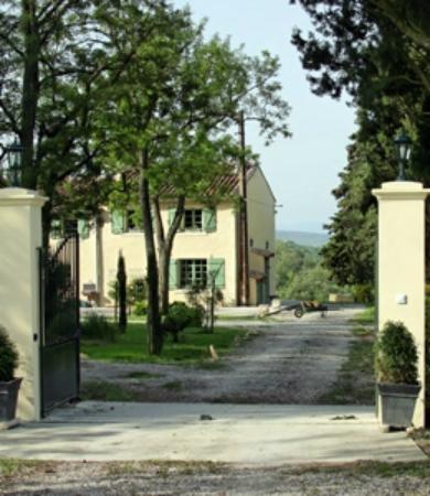Domaine de Caraman: Entrance