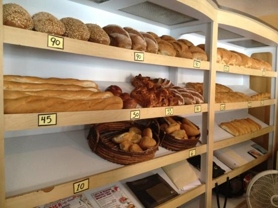 Dick's Bakery: bread selection