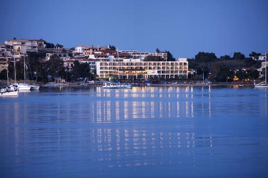 Nautica Bay Hotel : Our Hotel from Porto Heli