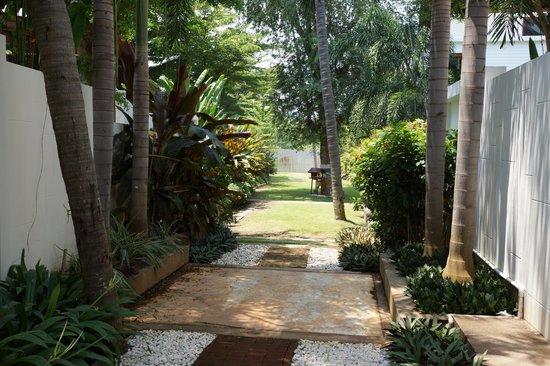 Pran A Luxe: lumig trädgård