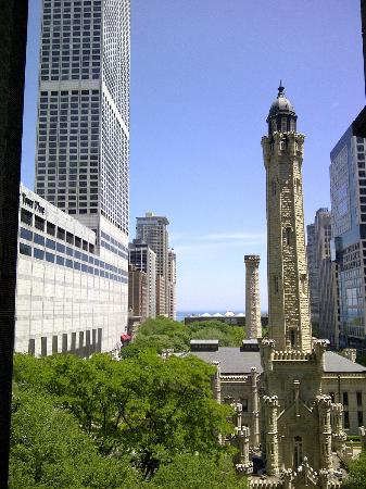 Park Hyatt Chicago: View from Nomi