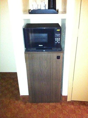 BEST WESTERN Port Aransas : microwave & fridge
