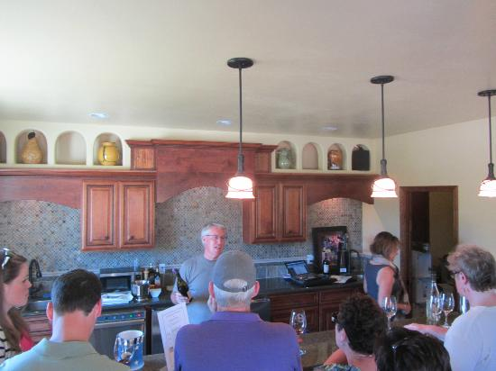 Il Gioiello Winery and Morse Wines: Owner Rob Morse talking about the new wines.