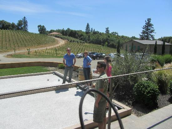 Fiddletown, CA: Everyone likes a good bocce ball competition.
